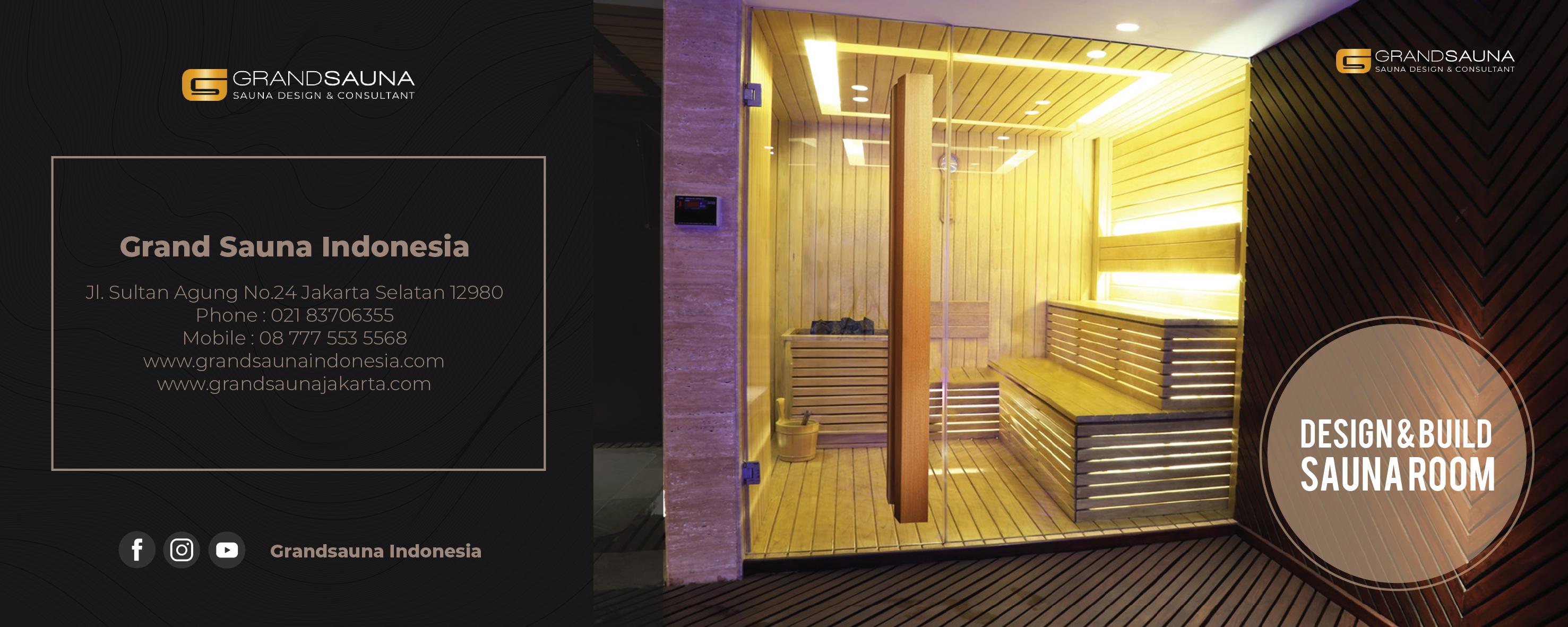 Grand Sauna Jakarta - Kontraktor Sauna & spa - jasa pembuatan sauna
