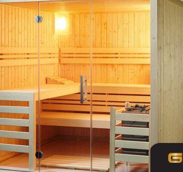 Lokasi yang tepat untuk ruang sauna